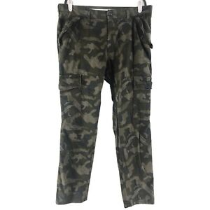 Mossimo Camo Cargo Pants Regular Fit Mens Size 36x32