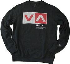 New Men's RVCA Fleece Long Sleeve Sweatshirt SZ S NO.12