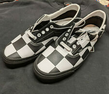 Barneys New York X Vans Era Big Check Checkerboard Leather & Suede Size 12 New