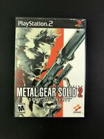Metal Gear Solid 2: Sons of Liberty (Sony PlayStation 2, 2001) PS2