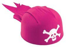 Pirate Hat Bandana Pink Fancy Dress Party Accessory
