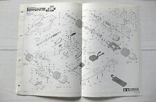 Tamiya Ferrari F189 Original Parts Breakdown + Parts List 58084 Vintage VGC NOS