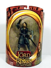Lord of the Rings The Two Towers Helm's Deep Aragorn Figure ToyBiz 2002 Mint