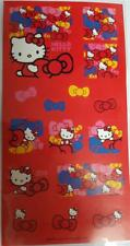 Hello Kitty Sticker Sheet Assorted Sizes Stick On Lunch Boxes Books Pencil Case