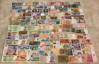 Lot Of 100 X World Banknotes. All Different Collection. Worldwide Assortment.