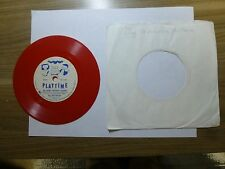 Old 45 RPM Children's Record - Playtime 357-PV - Ray Heatherton - Happy Birthday