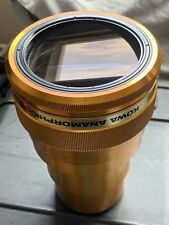 KOWA Anamorphic 35 made in Japan GOLD Cinema lens Rare Item