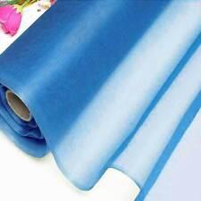 7 Yards Diva Blue Pure Silk Organza Bridal Dress Fabric 140cm W