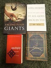 Lot Of 4 Christian, Inspirational Books