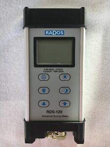RADOS RDS-120 Multi-purpose Survey meter (Radiation Detector) made in Finland