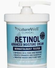 Nature Well Clinical Retinol Advanced Moisture Cream 16 Oz Dermatologist Tested