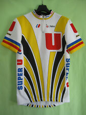 Maillot cycliste vintage Super U Raleigh Nalini FIGNON Laurent Jersey - 4 / L