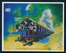 Disney Uganda - MNH Souvenir Sheet  Mickey Train /1409 (1996)