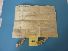 VELLUM DOCUMENT – 1685 (In the 25th year of the Reign of Charles II)