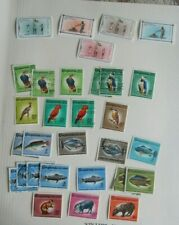 Guyana selection including Cousteau Society FDCs + fish, birds, scouts flowers