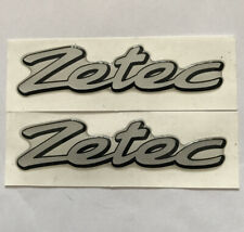 Ford Fiesta Zetec Gel Badge Emblem For The Wings X2