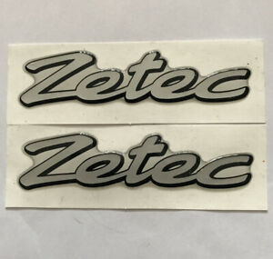 Ford Fiesta Zetec Gel Badge Emblem For The Wings X2