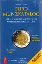 EURO Münzkatalog 2016, 15. Auflage, NEU und OVP