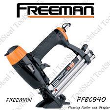 Freeman PFBC940 Pneumatic 4-in-1 Mini Flooring Nailer / Stapler W/ FACT WARRANTY