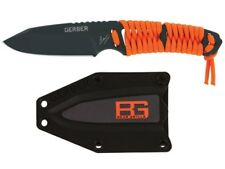 Gerber Bear Grylls Paracord Fixed Blade Survival Knife -Full Tang 5Cr15MoV Steel