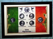 "Celtic FC Proclamation of Ireland Signatories A4 12x8"" Framed Photo Print 01"