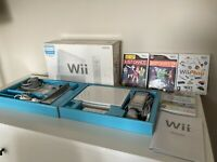 Nintendo Wii Complete Bundle Console Games Sports Just Dance Play TESTED