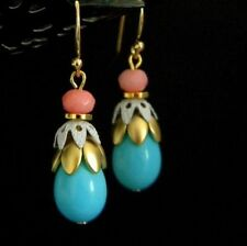 Mixed Metals Drop/Dangle Handcrafted Earrings without Stone