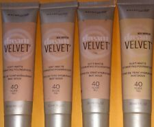 4 Maybelline New York Dream Velvet Foundation, Nude, 1 Oz Quad Sealed New