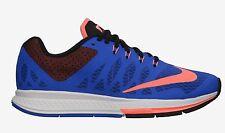 Nike Para Dama AIRE ZOOM ELITE 7 Zapatos Size 6 Hyper cobalto Mango Negro 654444
