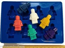 LEGO MEN Mould -  Soap/Ice/Chocolate/Candles/Icy Pop tray, crafts, fun, Silicone