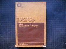 CAT Caterpillar 3512 Generator Set Engine Parts Manual