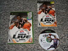 Nba Live 2002 (Xbox, 2001) X Box