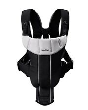 BabyBjorn Baby Carrier ACTIVE Black/Silver 0+ Months 8-26lbs, 3.5-12kg brand new