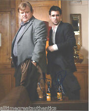 ACTOR BRENDAN GLEESON SIGNED IN BRUGES 8X10 PHOTO W/COA COLIN FARRELL A