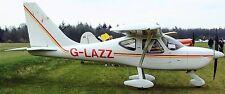 GlaStar Stoddard-Hamilton USA  Airplane Kiln Dry Wood Model Replica Small New