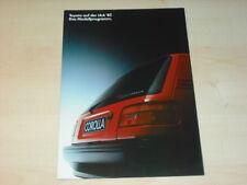 32197) Toyota Celica MR 2 Corolla Starlet Prospekt 1987