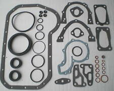 BOTTOM END SUMP GASKET SET VW GOLF Mk 1 2 3 JETTA SCIROCCO 1.6 1.8 8V 76-95 GTi