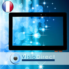 Vitre ecran tactile pour Asus Transformer Book T101HA-GR041T noir + outils
