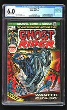 Ghost Rider 1 CGC 6.0 1973 Daimon Hellstrom cameo Marvel Bronze key Son Satan