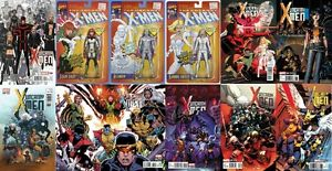 Uncanny X-Men #600 12 cover Variant Set! ADAM HUGHES! ART ADAMS! ACTION FIGURE!+