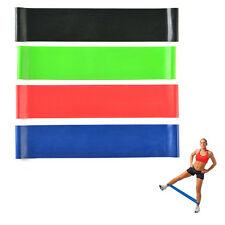 4*Exercise Resistance Loop Bands for Fitness Stretch Strength Physical Therapy