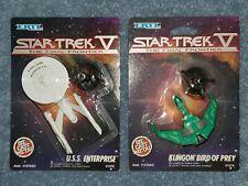 ERTL Star Trek V Final Frontier U.S.S Enterprise & Klingon Bird Of Prey Die Cast