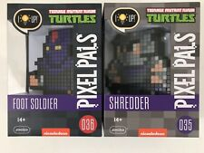 Pixel Pals Teenage Mutant Ninja Turtles Shredder 035 Foot Soldier 036 Light Up