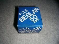 Beslar F/3.5 50mm Enlarging Lens For 35mm Negatives p/n 8670 (NOS in box) Japan