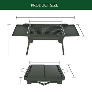 Japanese Korean BBQ Table Grill Yakitori Barbecue Charcoal Foldable Camping Home