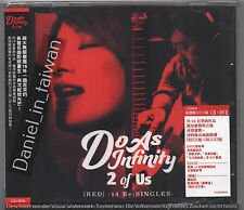 Do as infinity: 2 of Us Red 14 Re:Singles (2016) CD & DVD SEALED