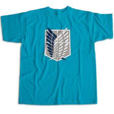 Attack on Titan Survey Corps Emblem Symbol Mens Womens Kids Unisex Tee T-Shirt