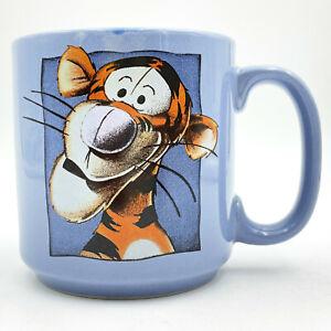 Disney Tigger Coffee Mug Cup Blue 12 oz
