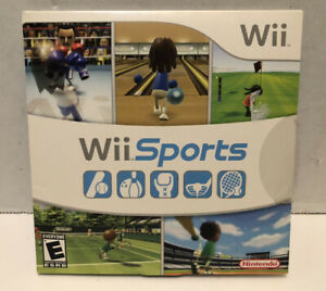 Wii Sports With Manual Tested
