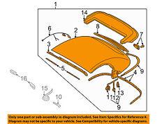 AUDI OEM 01-06 TT Quattro Convertible Soft Top-Roof Assy 8N7871011DC05